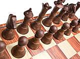 Шахматы магнитные из дерева, фото 2
