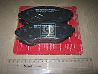 Колодки тормозные дисковые (F) DAEWOO LANOS 1.6 16V (пр-во SPEEDMATE, Korea)