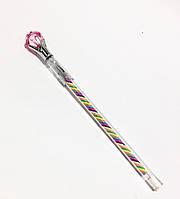 Ручка с Камнем «Pink Diamond»