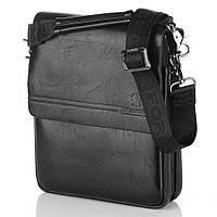 Мужская сумка Bradford 98337-2 средняя на пять отделов искусственная кожа размер 21х26х7см, фото 1