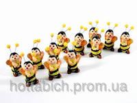 Фигурки  из керамики Малютки пчелки