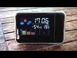 Часы проектор метеостанция, фото 4