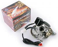 """Карбюратор 4T GY6 80 """"BREMBO"""" (+топливный фильтр, пластмассовая крышка)"""