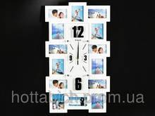 Настенные часы деревянные Famille Vertical 14