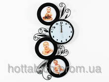 Настенные часы деревянные Моя семья