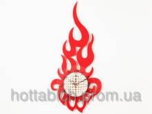 Настенные часы Пламя