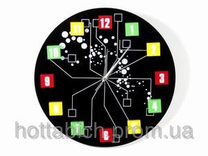Настенные часы Молекула