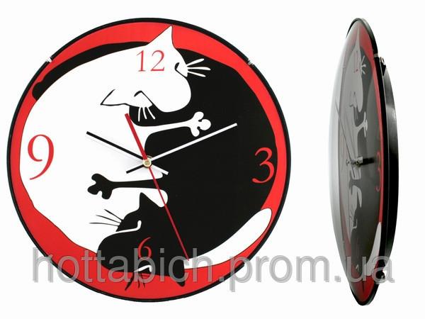 Часы настенные Инь-Ян