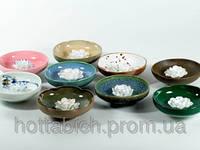 Подставка для благовоний керамика Лотос в чаше