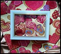 Вафельные полотенца Textile plus 3шт 35*55 Love