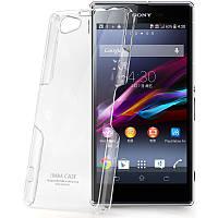 Пластиковый чехол Imak Crystal для Sony Xperia Z1 Compact D5503 прозрачный