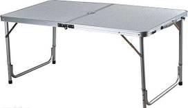 Стол складной для пикника без стульев серый