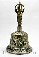 Колокол для мантр чакровый бронза