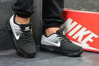 Мужские кроссовки NIKE AIR MAX 2017,черные с белым, фото 1