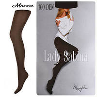 "Колготки ""Lady Sabina"" (100 den) мокко (Код: 962/3)"