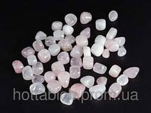 Камни розовый кварц