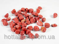 Камни яшма красная