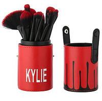 Набор кистей для макияжа Kylie, 12 шт
