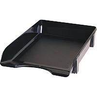 Лоток для бумаги горизонтальный ЛГ-06 черный