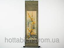 "Свиток декор ""Сакура"" желтая"