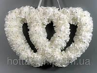 """Украшение для свадебного зала """"Два сердца"""""""