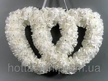 Украшение для свадебного зала Два сердца