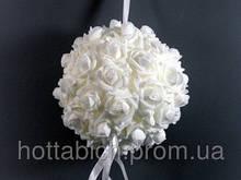 Украшение для свадебного зала Шар из роз