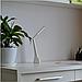 Настольная Аккумуляторная  Лампа Led Matt Silver/ White  4W, Table Lamps-White/Silwer 4 W, фото 3