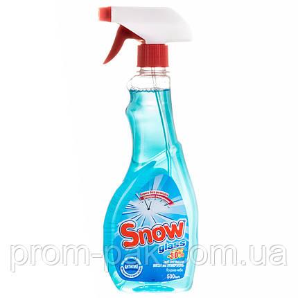 Моющее средство для окон Snow Glass с распылителем  500 мл, фото 2