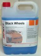 CARLINE BLACK WHEELS средство для очистки шин (5л)