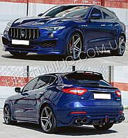 Тюнинг обвес спойлер губа диффузор капот Maserati Levante, Quattroporte, Ghibli, Gran Turismo.