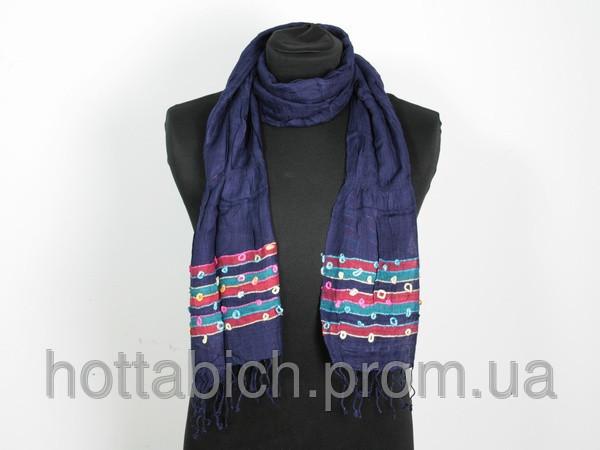 Простой шарф Люрекс