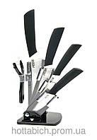 Набор керамических ножей на подставке
