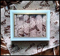 Вафельные полотенца Textile plus 6шт 35*55 Coffe (kod 3009)