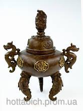 Статуэтка ваза с драконами