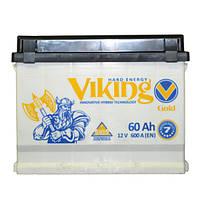 Viking Автомобильные аккумуляторы Viking Gold 6CT-60Ah R+ 600A (EN)