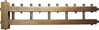 Распределительный коллектор СК 522.125 на 5 контуров с гидроуравнивателем СК-26