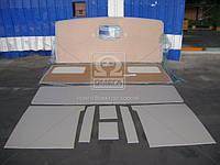 Обивка кабины КАМАЗ с низк. крышей со спальным местом (пр-во Россия)
