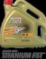 Castrol Моторное масло Castrol Edge 5W-40 Titanium 4L