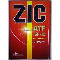 ZIC Трансмиссионное масло ZIC SK  ATF SP-3 4L