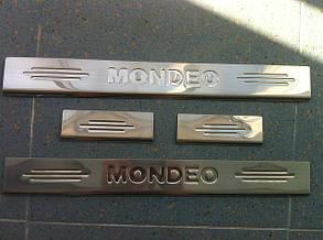 Накладки на пороги Ford Mondeo 3