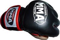 Перчатки ММА кожа (007), фото 1