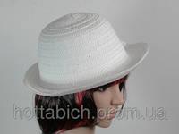 "Шляпа белая ""Бебе"""