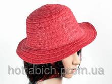 """Шляпа красная """"Бебе"""""""
