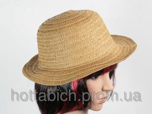 """Шляпа коричневая """"Бебе"""""""
