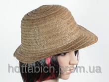 """Шляпа темно-коричневая """"Бебе"""""""