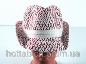 """Шляпа с белой лентой """"Бевьер"""""""
