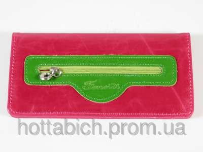 Красный кошелек для девушки