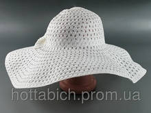 "Шляпа белая с широкими полями ""Котьир"""