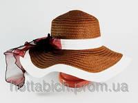 """Шляпа с бантом """"Лагже"""""""